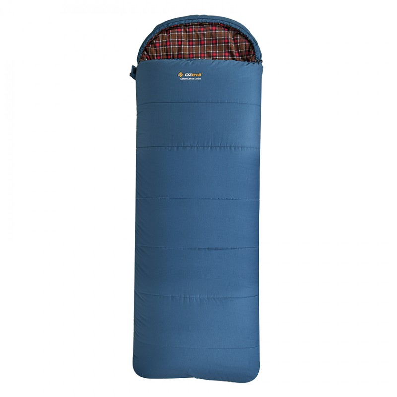 Cotton Canvas Jumbo Hooded -7C Sleeping Bag